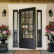 Front door,porch